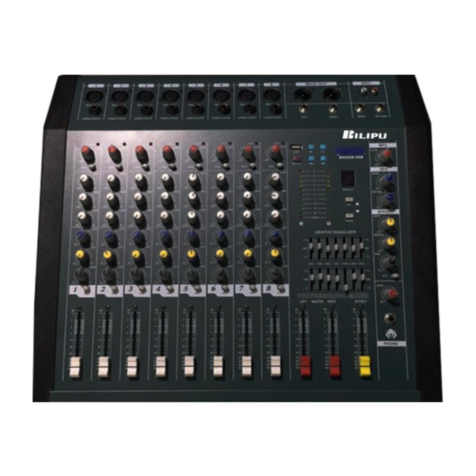 KF-8800 带功放调音台