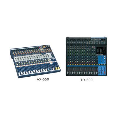 AX-550/TD-600系列调音台